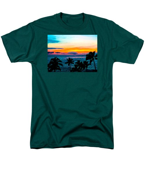 Surreal Sunset Men's T-Shirt  (Regular Fit) by Russell Keating