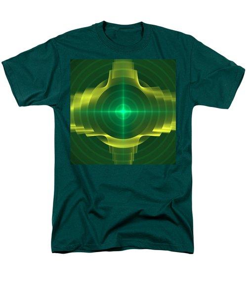 Men's T-Shirt  (Regular Fit) featuring the digital art Target by Svetlana Nikolova