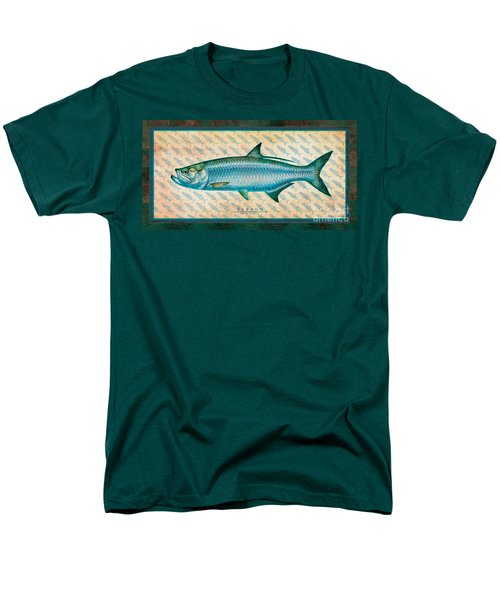 Men's T-Shirt  (Regular Fit) featuring the painting Tarpon by Jon Q Wright