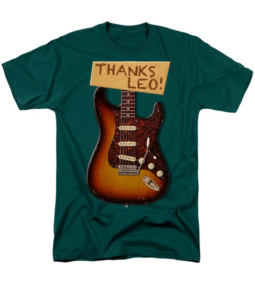 Thanks Leo Strat Shirt Men's T-Shirt  (Regular Fit) by WB Johnston