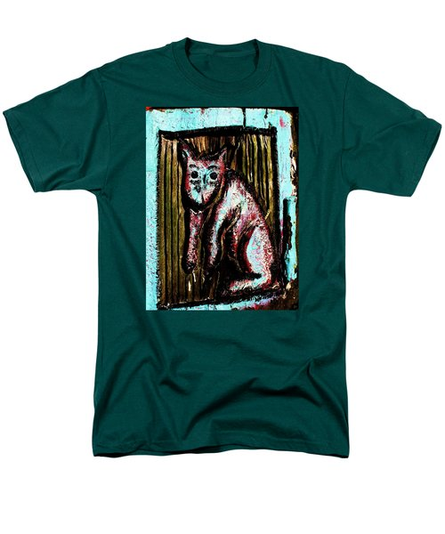 The Cat Men's T-Shirt  (Regular Fit) by John King