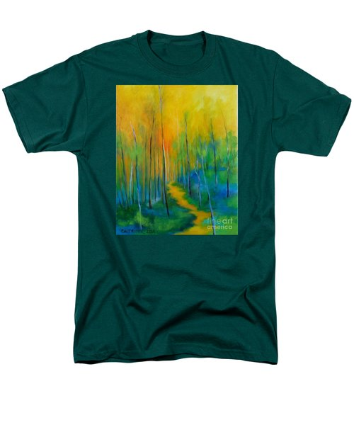 The Chosen Path  Men's T-Shirt  (Regular Fit) by Alison Caltrider
