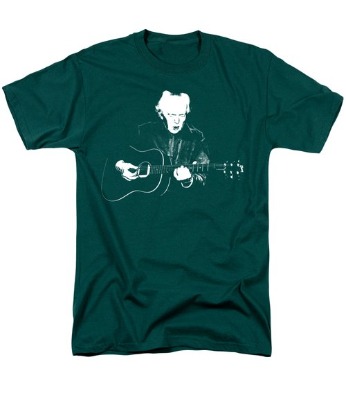 The Guitarist Men's T-Shirt  (Regular Fit) by Mim White