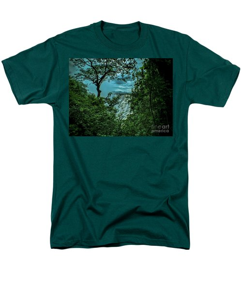 The Majestic Victoria Falls Men's T-Shirt  (Regular Fit) by Karen Lewis