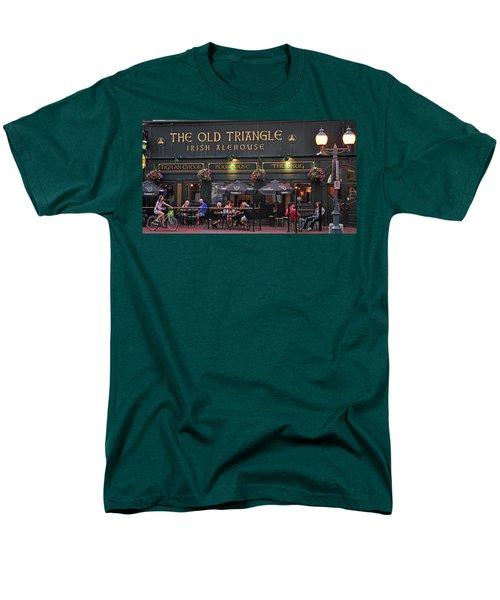 The Old Triangle Alehouse Men's T-Shirt  (Regular Fit) by Glenn Gordon