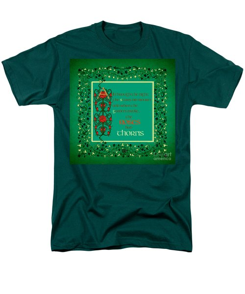 The Roses Had Thorns Men's T-Shirt  (Regular Fit) by Donna Huntriss