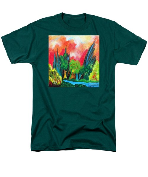 The Secret Stream Men's T-Shirt  (Regular Fit) by Elizabeth Fontaine-Barr