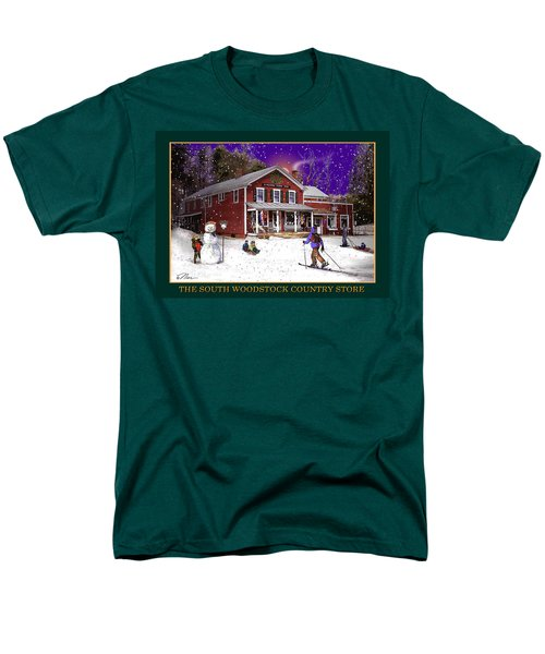 The South Woodstock Country Store Men's T-Shirt  (Regular Fit) by Nancy Griswold