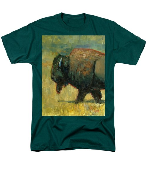 Men's T-Shirt  (Regular Fit) featuring the painting The Traveler by Billie Colson