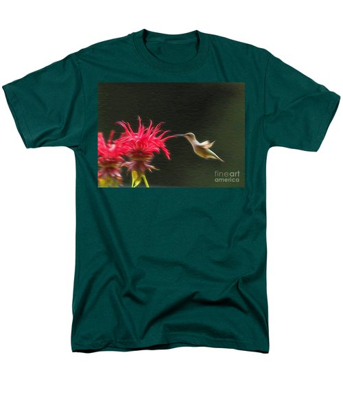 Men's T-Shirt  (Regular Fit) featuring the photograph The Visitor by Robert Pearson