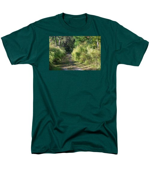 The Yellow Trail Men's T-Shirt  (Regular Fit) by Kenneth Albin