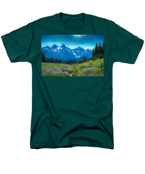 This Is My Fathers World 3 Men's T-Shirt  (Regular Fit)
