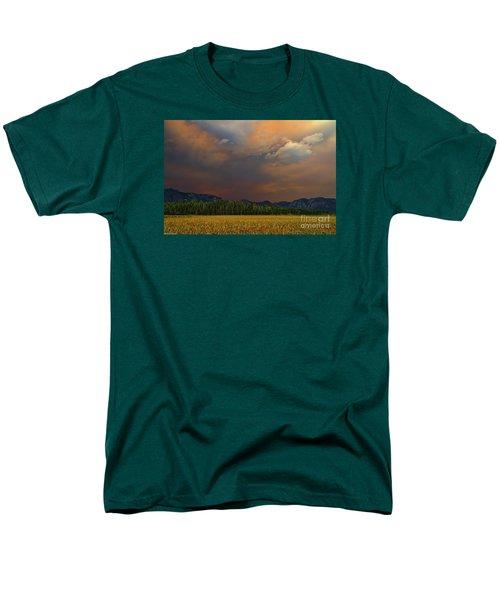 Tormented Sky Men's T-Shirt  (Regular Fit) by Mitch Shindelbower