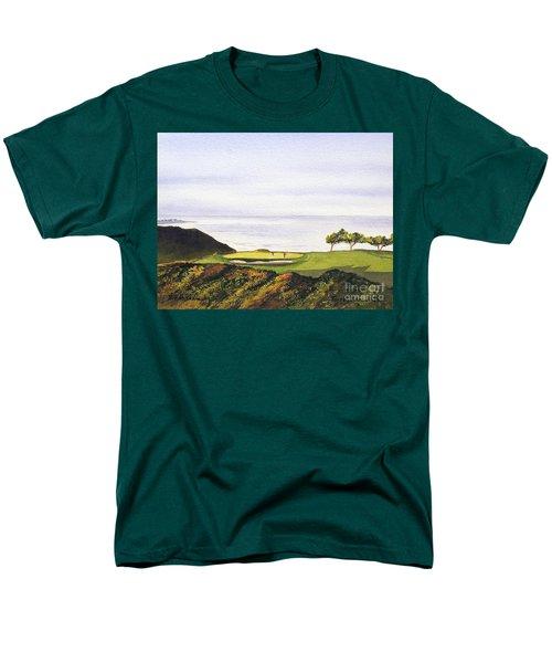 Torrey Pines South Golf Course Men's T-Shirt  (Regular Fit) by Bill Holkham