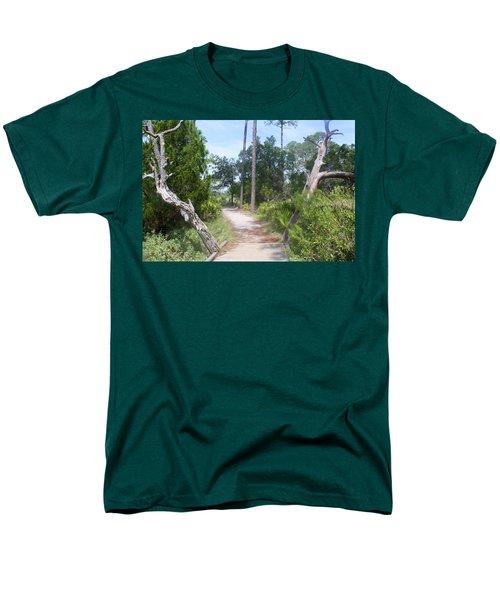 Trail On Hunting Island Men's T-Shirt  (Regular Fit)
