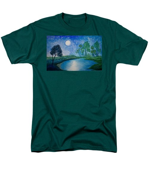 Tranquil Men's T-Shirt  (Regular Fit) by Adria Trail