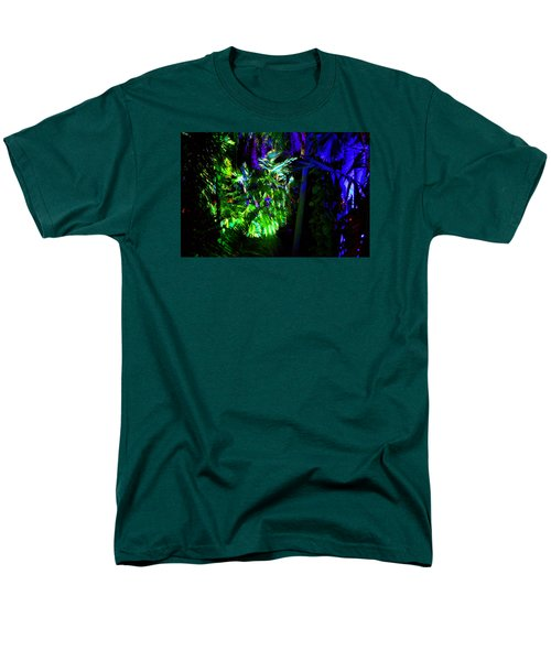 Men's T-Shirt  (Regular Fit) featuring the photograph Into The Psychedelic Jungle by Richard Ortolano