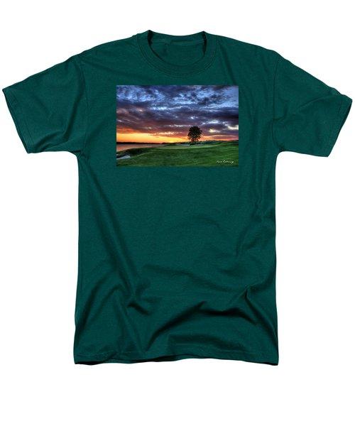 Try Me The Landing Men's T-Shirt  (Regular Fit) by Reid Callaway