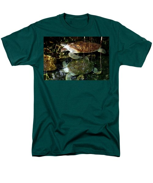 Turtles Men's T-Shirt  (Regular Fit) by Angela Murray