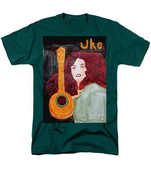 Uke Men's T-Shirt  (Regular Fit) by Sandy McIntire