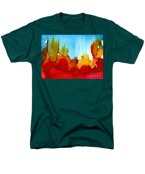 Up In Flames Men's T-Shirt  (Regular Fit) by Yolanda Koh