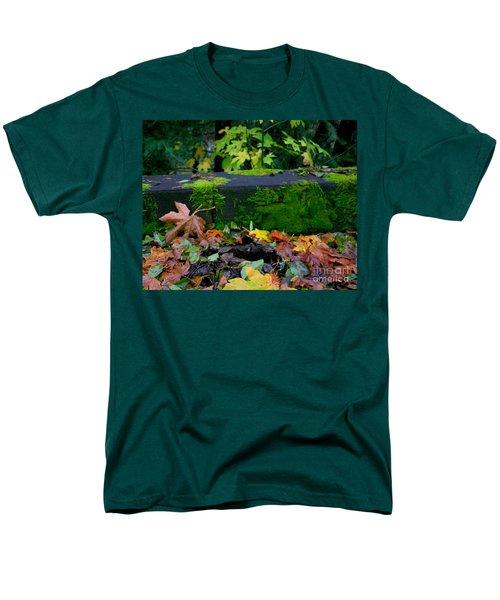 Varigated Fall Men's T-Shirt  (Regular Fit) by Marie Neder