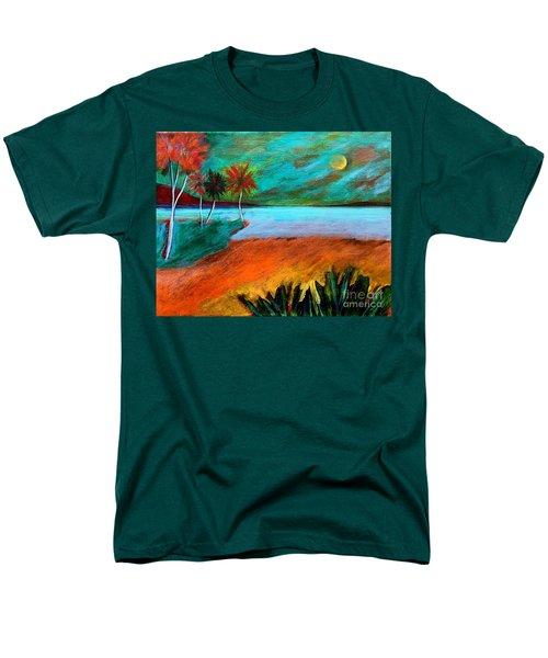Vinoy Park Twilight Men's T-Shirt  (Regular Fit) by Elizabeth Fontaine-Barr