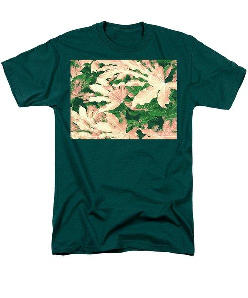 Vintage Season Pink Men's T-Shirt  (Regular Fit) by Rebecca Harman