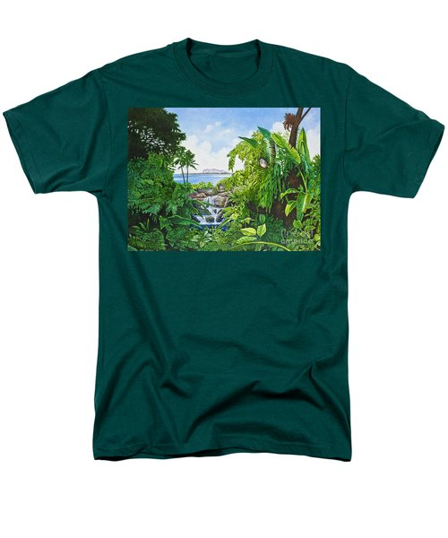 Visions Of Paradise Ix Men's T-Shirt  (Regular Fit) by Michael Frank