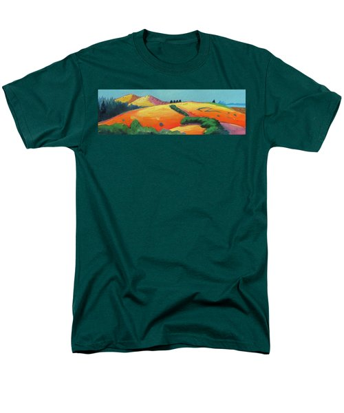 Voluptuous Windy Hill Men's T-Shirt  (Regular Fit) by Gary Coleman
