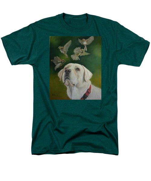 Watching Birds Men's T-Shirt  (Regular Fit) by Ceci Watson