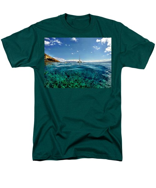 Men's T-Shirt  (Regular Fit) featuring the photograph Water Shot by Michael Albright