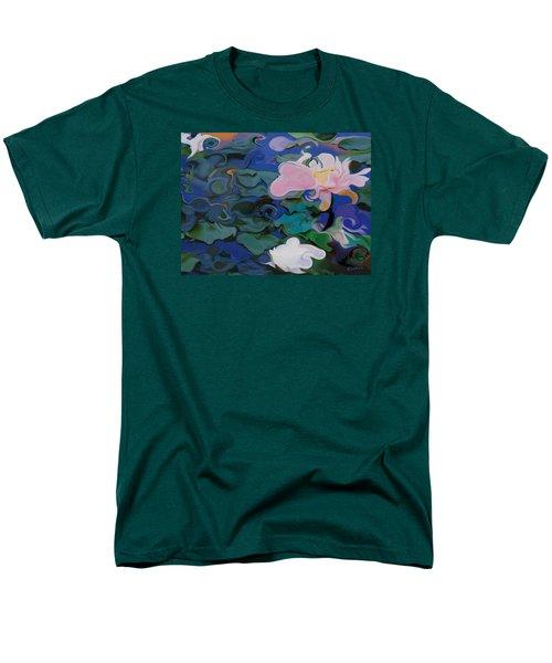 Waterlilies Six Men's T-Shirt  (Regular Fit) by David Klaboe