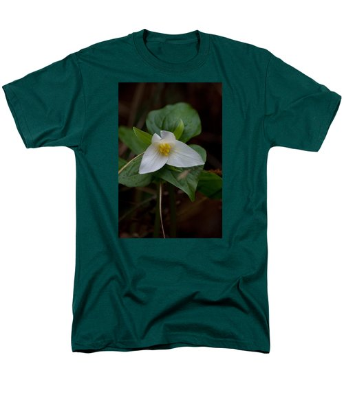 Wild Lily Men's T-Shirt  (Regular Fit) by Adria Trail