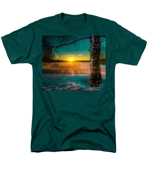 Winter Delight In British Columbia Men's T-Shirt  (Regular Fit) by Rod Jellison
