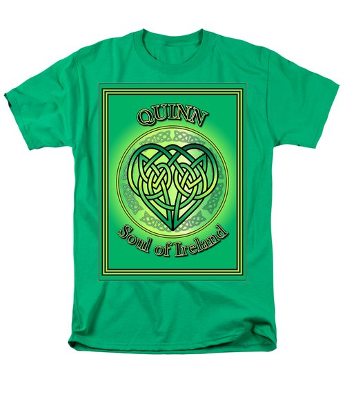 Quinn Soul Of Ireland Men's T-Shirt  (Regular Fit)
