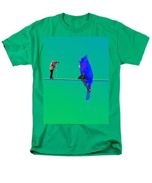 Birdwatcher Men's T-Shirt  (Regular Fit) by David Mckinney