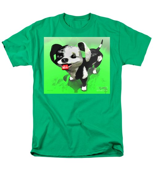 Men's T-Shirt  (Regular Fit) featuring the painting Checkmate by Dave Luebbert