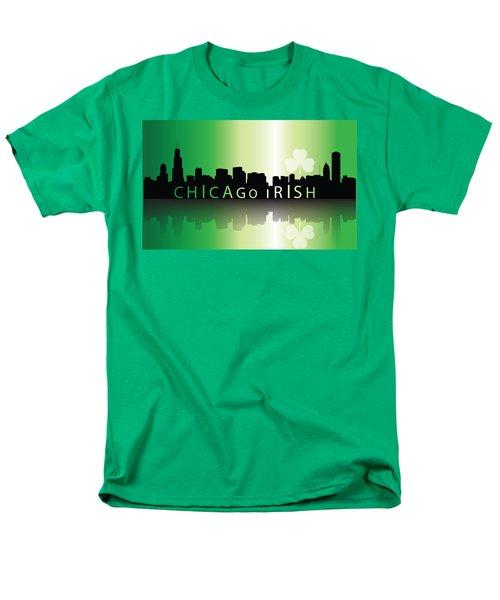 Chigago Irish Men's T-Shirt  (Regular Fit) by Ireland Calling