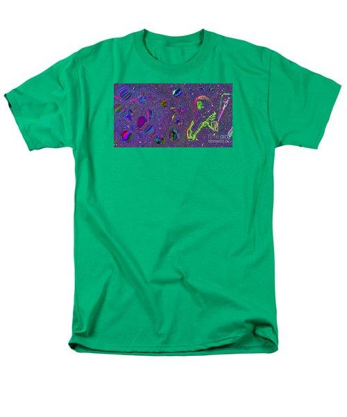 Men's T-Shirt  (Regular Fit) featuring the photograph Crazy Fingers   by Susan Carella