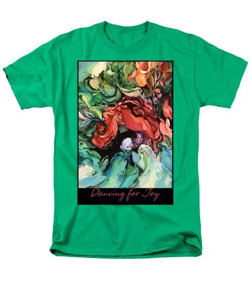 Men's T-Shirt  (Regular Fit) featuring the painting Dancing For Joy 2 by Brooks Garten Hauschild