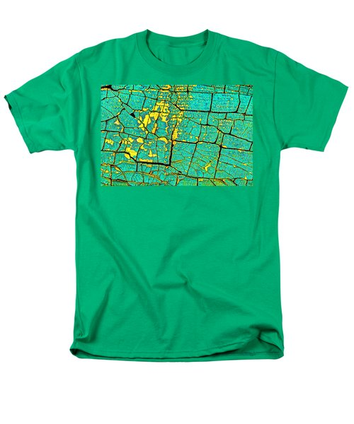 Men's T-Shirt  (Regular Fit) featuring the photograph Flyover Country by Jerry Gammon