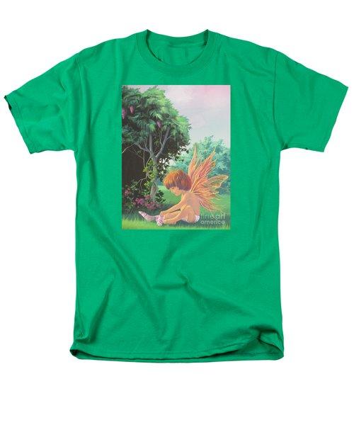 Getting Dressed Men's T-Shirt  (Regular Fit) by Vivien Rhyan