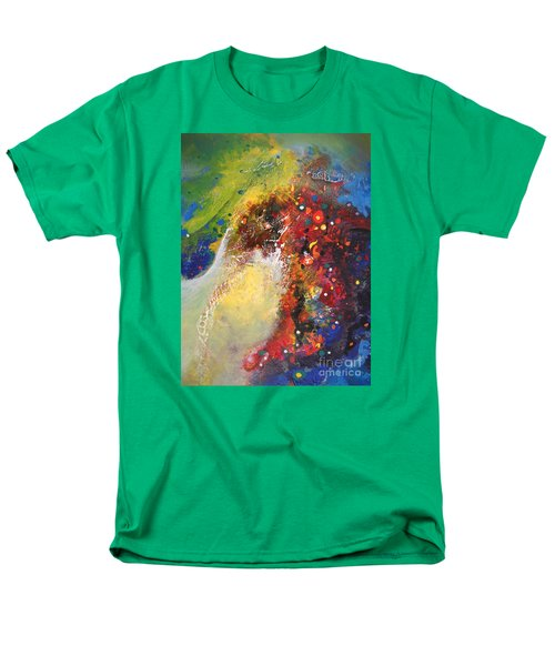 Glory Of Nature Men's T-Shirt  (Regular Fit) by Sanjay Punekar