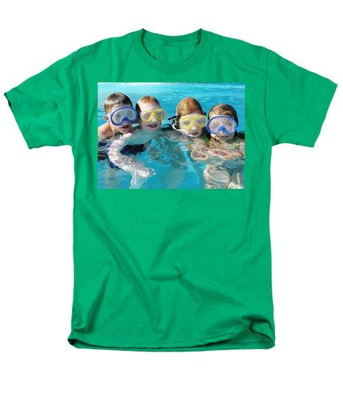 Men's T-Shirt  (Regular Fit) featuring the photograph Goggle Eyed Quartet by David Nicholls