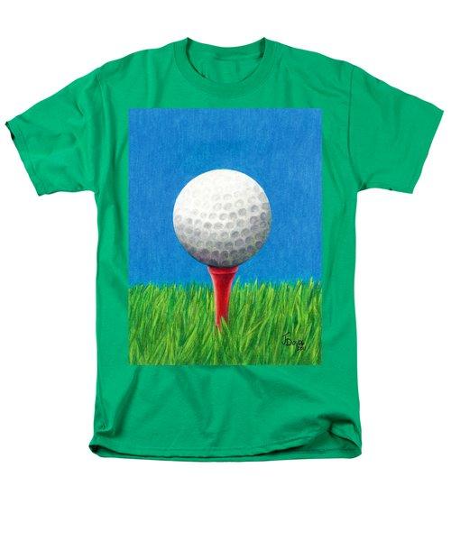 Golf Ball And Tee Men's T-Shirt  (Regular Fit)