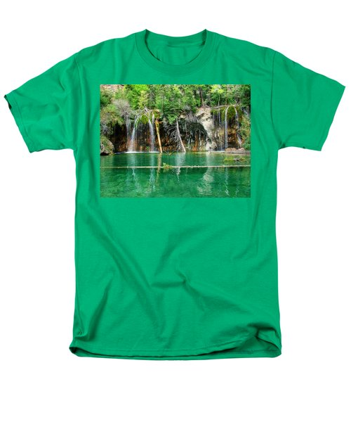 Hanging Lake 1 Men's T-Shirt  (Regular Fit) by Ken Smith
