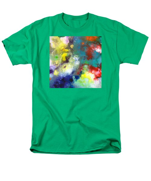 Holding The High Watch Canvas Two Men's T-Shirt  (Regular Fit) by Sally Trace