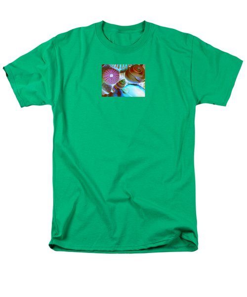 Men's T-Shirt  (Regular Fit) featuring the photograph I Sell Seashells Down By The Seashore by Janice Westerberg