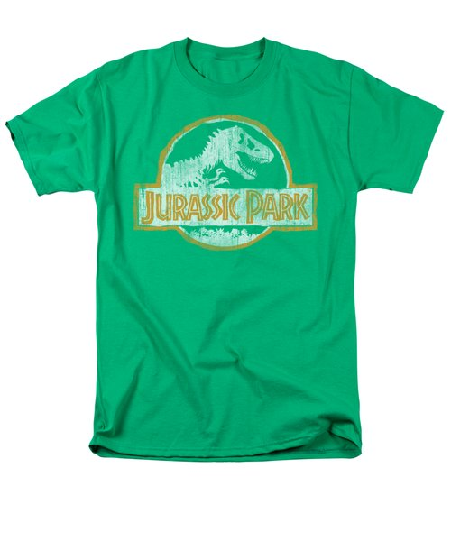 Jurassic Park - Jp Orange Men's T-Shirt  (Regular Fit) by Brand A